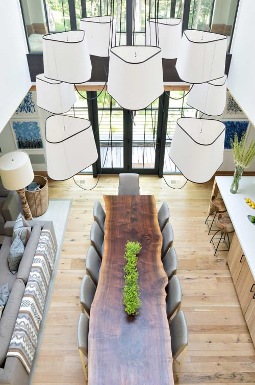 Pendants by Herve Langlais seen at Lake House, New York - Nuages