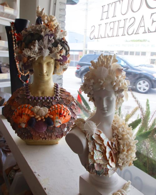 Art & Wall Decor by Christa Wilm seen at Christa's South Seashells, West Palm Beach - Shell Art
