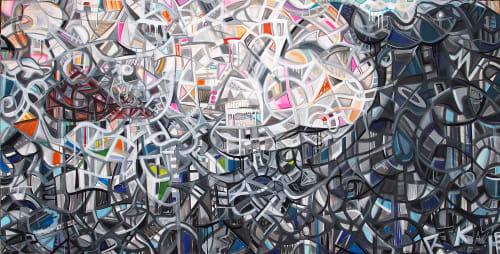Kelly Marie Hogan:  Posi+ive Ar+ - Murals and Art