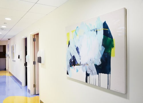 Paintings by Heather Day at Hospital for Special Surgery, New York - Bright