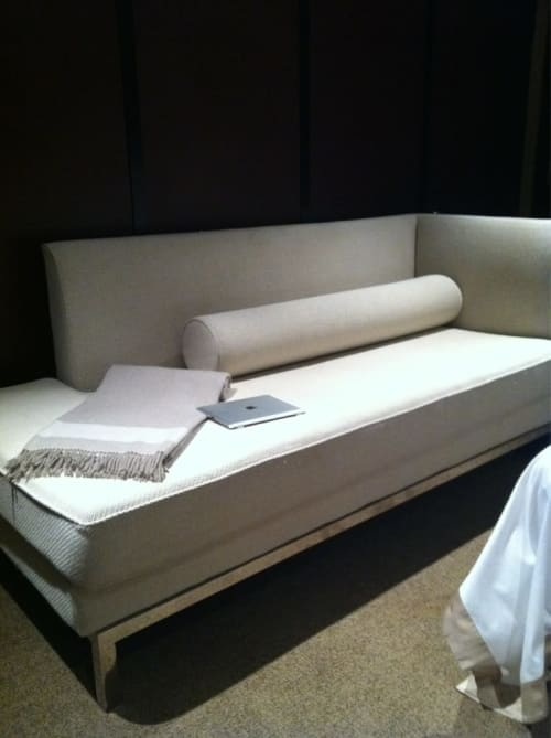 Custom cashmere throw | Linens & Bedding by Cristina Azario | The Chatwal New York in New York
