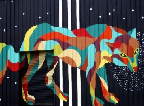 David Polka - Murals and Street Murals