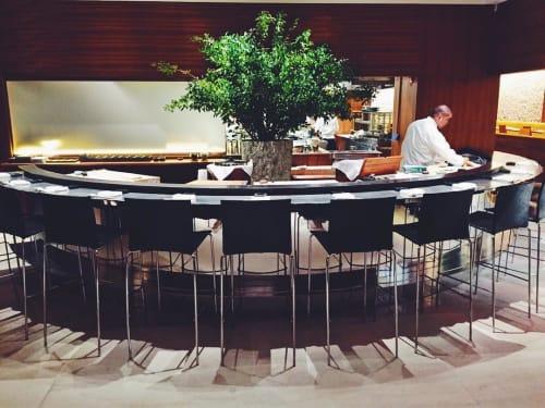 Tables by Andre Joyau at Kappo Masa, New York - Counter Table
