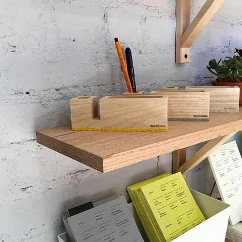 Apparel & Accessories by Most Modest seen at Maker Goods, Kansas City - Bau Desktop Organizer