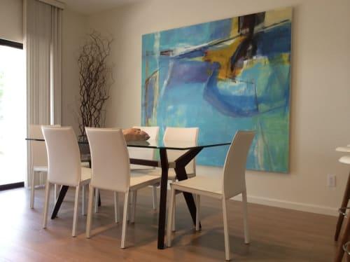 Paintings by Trudy Montgomery seen at La Quinta Resort & Club, La Quinta - Esplanade
