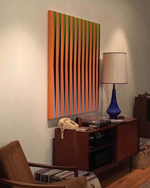 Paintings by Severin Art seen at Private Residence, Montreal - L-1 Series