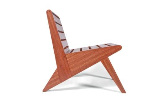 Chairs by BoydDesign - Architecture seen at The Durham Hotel, Durham - Arrowhead Lounge Chair