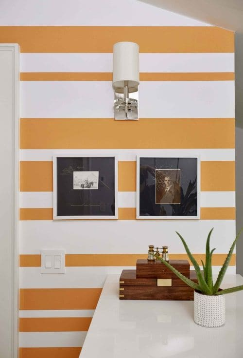 Wall Treatments by Shannon Kaye seen at Private Residence, Mill Valley, Mill Valley - Wall Paint