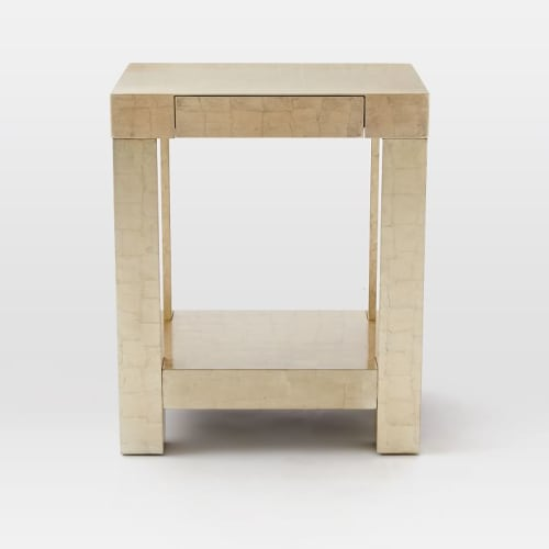 Tables by West Elm seen at JW Marriott Essex House New York, New York - Parsons End Table
