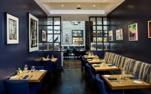 Charlie Palmer Steak New York, Restaurants, Interior Design