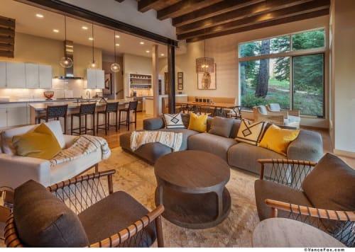 Interior Design by Lauren Berry Interior Design seen at Martis Camp, Truckee - Interior Design