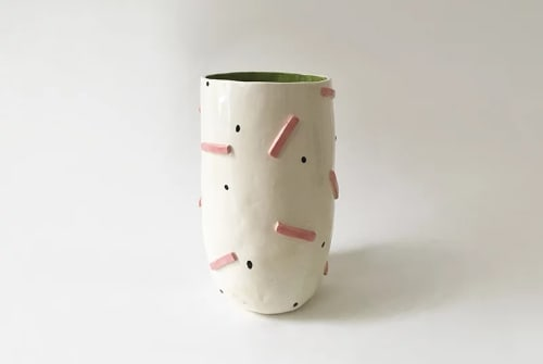 Vases & Vessels by Alyssa Block at Temescal Brewing, Oakland - Pots for Temescal Brewing