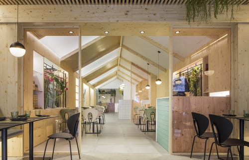 Kamon, Restaurants, Interior Design