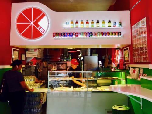 Lower East Side Pizza, Restaurants, Interior Design