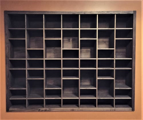 Furniture by Alexis Moran at Namaste Yoga + Wellness Rockridge, Oakland - Storage Shelves