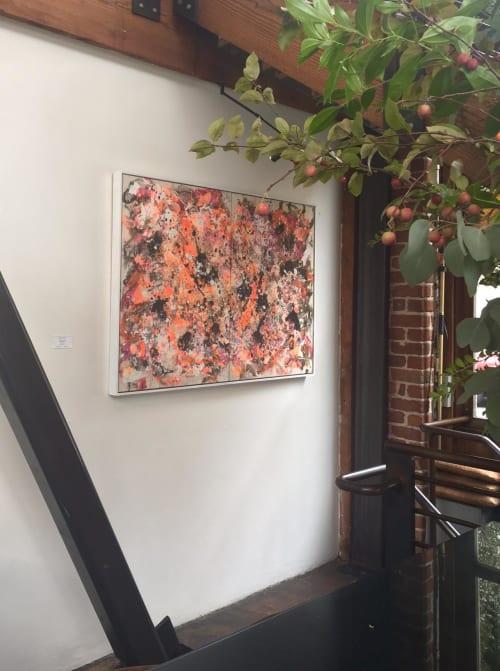 Paintings by John Warren Travis seen at Zuni Café, San Francisco - Jonesing for Jackson