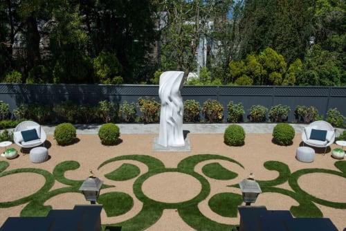 Sculptures by Yoko Kubrick - Sculpture for SF Decorator Showcase 2019