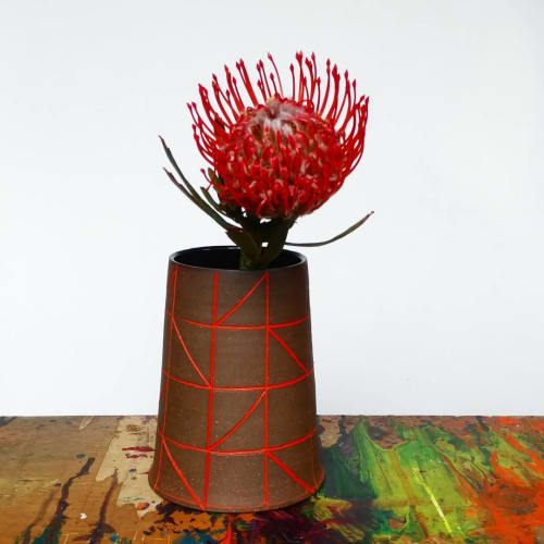 Vases & Vessels by Hollow Work by Kate Hardy at Private Residence - Contemporary Vase