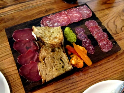 Tableware by District Mills seen at Bestia, Los Angeles - Charcuterie Boards