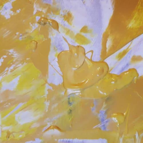 Paintings by Sophie Mangelsen seen at Creator's Studio, Berlin - AUTUMN NOSTALGY