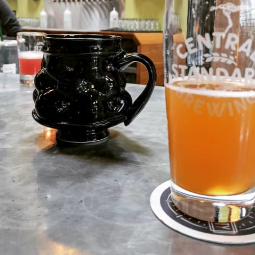 Cups by Rincones Pottery seen at Central Standard Brewing, Wichita - Handmade Mug