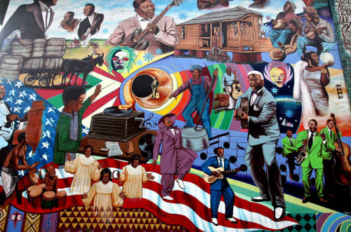 Santie Huckaby - Street Murals and Public Art