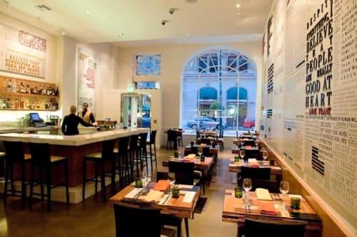 Credo, Restaurants, Interior Design
