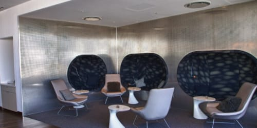 Chairs by PearsonLloyd seen at Virgin Atlantic Clubhouse - John F Kennedy International Airport, New York - Zones Chair