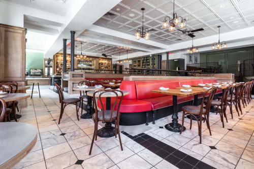 Belga, Restaurants, Interior Design