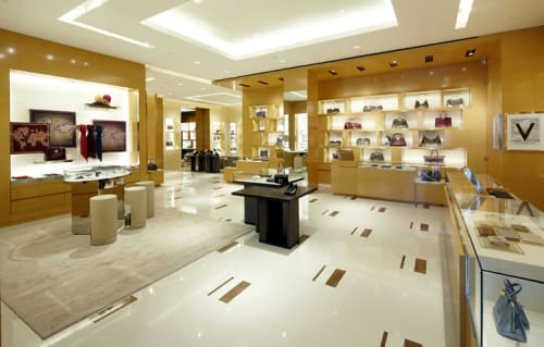 Interior Design by G4 Group at Louis Vuitton Casablanca Morocco Mall, Casablanca - Architectural Design