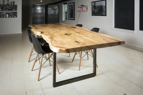Tables by MFGR Designs seen at Bash, Bozeman - Maple Conference Table