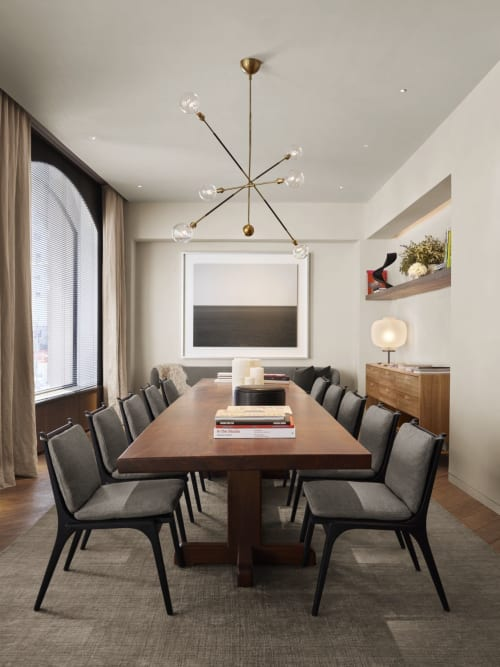 Lighting by Apparatus Studio at 11 Howard, New York - Highwire Light Fixture