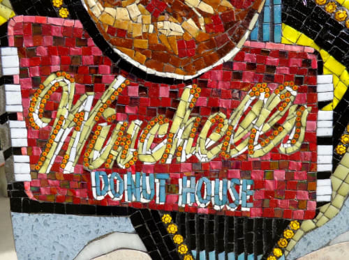 Public Mosaics by Carole Choucair Oueijan at Rosemead Blvd, Temple City - What We Created