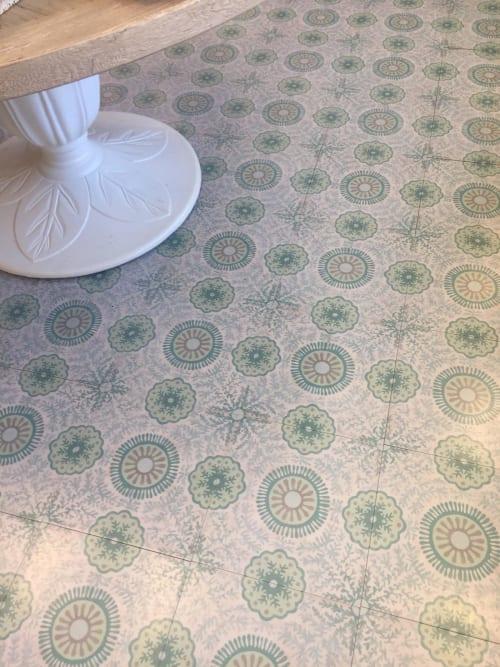 Tiles by Mirth Studio seen at Waiting On Martha Home, Atlanta - Sweet Celia Hardwood Tile