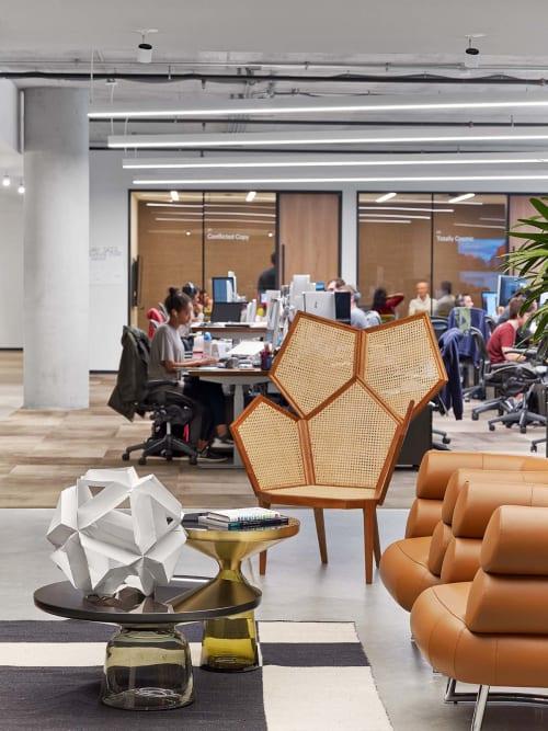 Pentagon Wood Armchair Chair By Philippe Bestenheider Design Studio