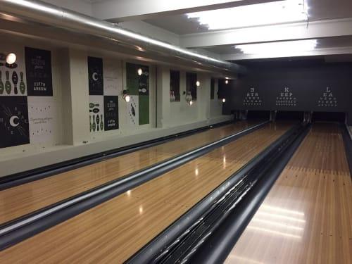 Fifth Arrow, Bars, Interior Design