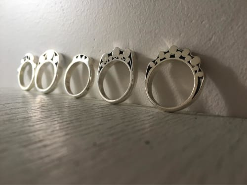 Apparel & Accessories by Suna Bonometti seen at Suna Bonometti Studio, New York - Slice of Ring