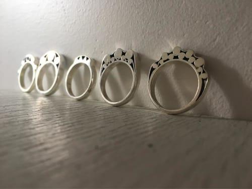 Apparel & Accessories by Suna Bonometti at Suna Bonometti Studio, New York - Slice of Ring