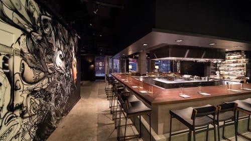 Momofuku Ko, Bars, Interior Design