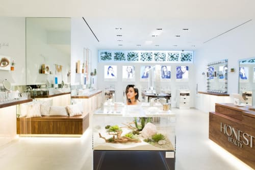 Honest Beauty Pop-Up at the Grove, Stores, Interior Design