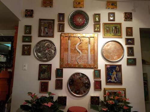 Art & Wall Decor by Christopher Tanner seen at Private Residence, Los Angeles, CA, Los Angeles - LA Home Commissioned Work