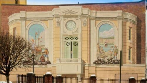 Richard Haas - Murals and Art
