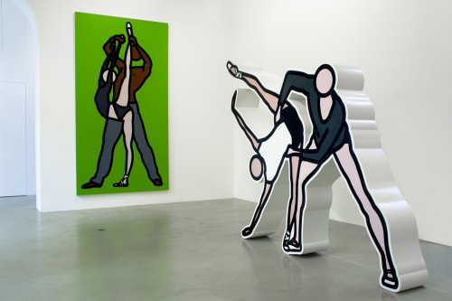 Julian Opie - Murals and Art