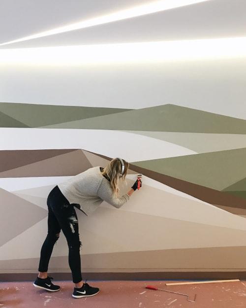 Murals by Allison Kunath seen at 160 Spear St, San Francisco - Grass Valley