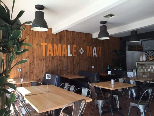 Tamale Man, Restaurants, Interior Design