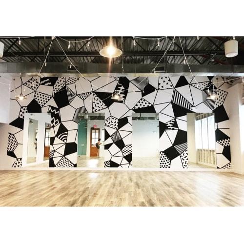 Murals by yaicecream seen at Sutra Studios - Roosevelt, Phoenix - Wall Mural