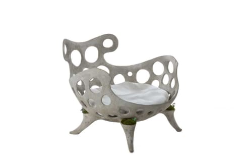 Chairs by Opiary seen at Private Residence, Jackson - Drillium Chair