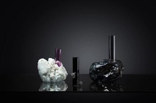 Vases & Vessels by Eliška Monsportová seen at Creator's Studio, Prague - Glass Vase