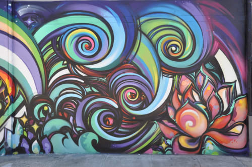 Meagan Spendlove - Street Murals and Public Art