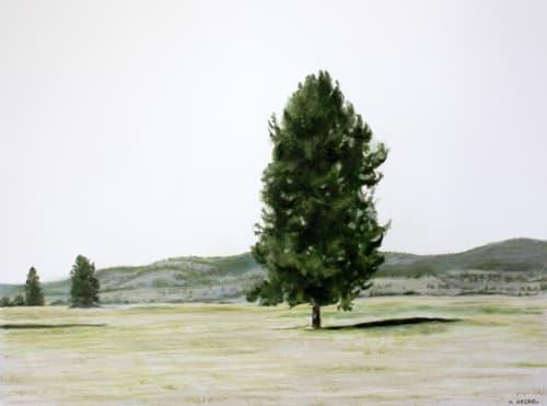 Art & Wall Decor by Heather Heckel seen at Lake Roosevelt National Recreation Area, Washington, Hunters - Fort Spokane